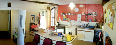 Kitchen at Elsie Briggs House of Prayer, Bristol